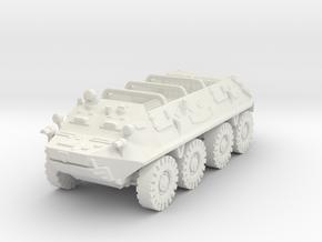 BTR 60 P (open) 1/87 in White Natural Versatile Plastic