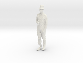 Printle C Homme 519 - 1/32 - wob in White Natural Versatile Plastic
