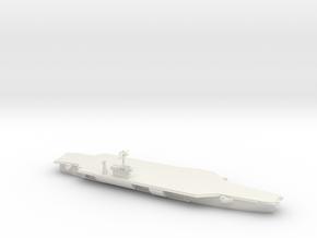 1/2400 Scale USS John F Kennedy CV-67 in White Natural Versatile Plastic