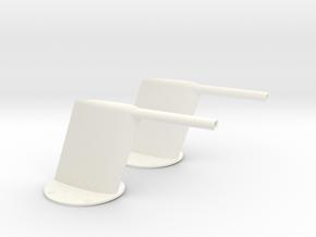 1.5 Sonde Pitot MIRAGE 2000 in White Processed Versatile Plastic