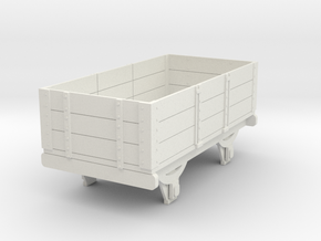 0-re-55-eskdale-3-plank-wagon in White Natural Versatile Plastic