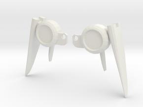 Wings for Studio Series Deluxe Shatter in White Natural Versatile Plastic