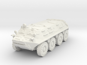 BTR 60 PA (late) 1/76 in White Natural Versatile Plastic