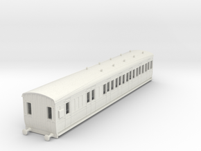 o-76-gcr-london-sub-brake-3rd-coach in White Natural Versatile Plastic