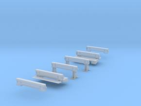 WarwellSixBolsterConversion OpenSupports in Smooth Fine Detail Plastic
