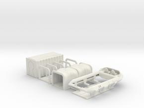 cargo-air-raft in White Natural Versatile Plastic