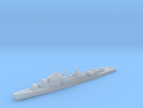 USS Gwin destroyer ml 1:2400 WW2 in Smoothest Fine Detail Plastic