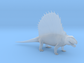 Dimetrodon 1/25 Scale Model in Smooth Fine Detail Plastic
