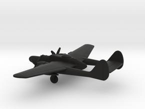 Northrop P-61 Black Widow in Black Natural Versatile Plastic: 1:285 - 6mm