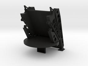 1/96 scale JHSV - Ramp Folded in Black Natural Versatile Plastic