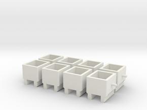 pylon_adapter_x8_b in White Natural Versatile Plastic