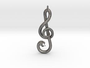 Song Snake in Polished Nickel Steel