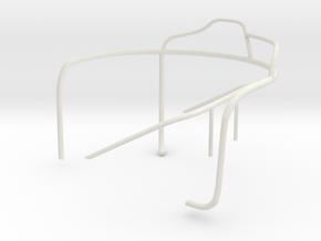 1/24 US Higgins Turret limit-stop-railing Port in White Natural Versatile Plastic