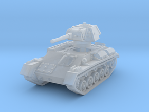 T-70 Light Tank 1/144 in Smooth Fine Detail Plastic