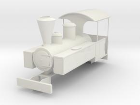 b-43-decauville-mallet-0440t-loco in White Natural Versatile Plastic