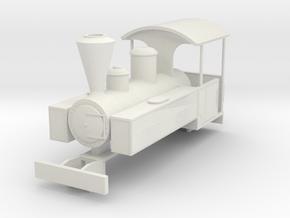 b-87-decauville-mallet-0440t-loco in White Natural Versatile Plastic