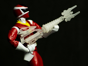 Space Red Accessory - Spiral Saber Booster Mode in White Natural Versatile Plastic