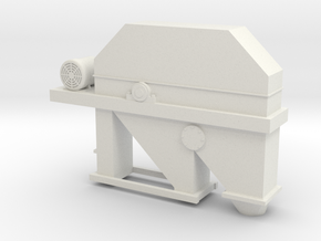 Elevator Top With Motor in White Natural Versatile Plastic