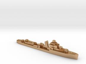 Brazilian Amazonas class destroyer 1:1800 WW2 in Natural Bronze