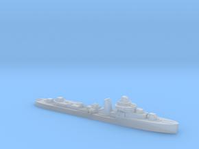 Brazilian Amazonas class destroyer 1:2400 WW2 in Smoothest Fine Detail Plastic