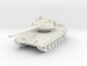 T-72 B 1/76 in White Natural Versatile Plastic