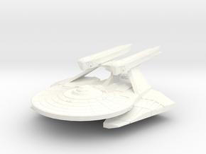 Triton Class 2500 Destroyer in White Processed Versatile Plastic
