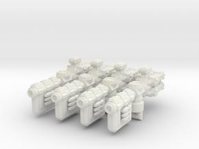 XM109 Lillours-YG Leech Frigate (4) in White Natural Versatile Plastic