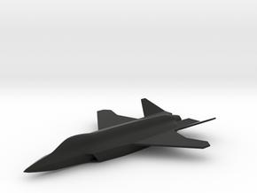 McDonnell Douglas/Northrop/BAE JAST in Black Natural Versatile Plastic: 1:200
