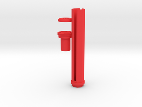 6-Rounds SpeedLoader for Nerf Rival Kronos in Red Processed Versatile Plastic
