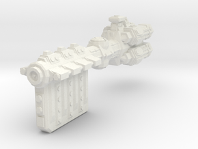 XM301 Orilaa Class Battlecruiser in White Natural Versatile Plastic