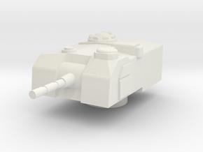 1/72 M52 turret in White Natural Versatile Plastic