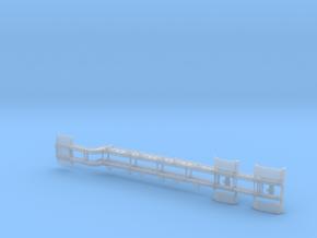 164th Hazardous Materials container rail trailer in Smooth Fine Detail Plastic