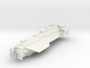 Halo Athens Class Carrier in White Natural Versatile Plastic