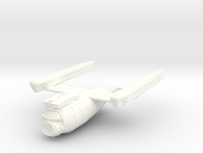 2500 Federation class Secondary in White Processed Versatile Plastic