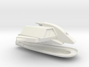 1/1000 USS Ranger Neck & Bridge in White Natural Versatile Plastic