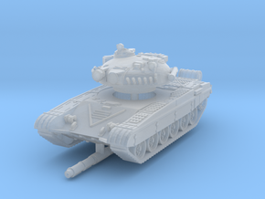 T-72 A 1/200 in Smooth Fine Detail Plastic