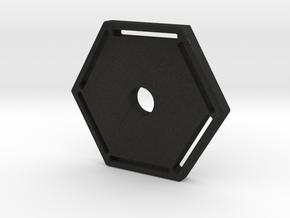 123DDesignDesktopSel in Black Acrylic