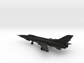 "F-110A ""Lark"" Interceptor in Black Natural Versatile Plastic: 1:250"
