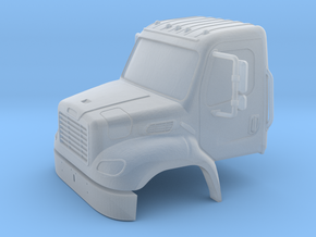 Freightliner 2 Door Closed Windows With Bumper 1-6 in Smooth Fine Detail Plastic