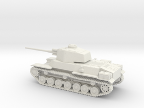 1/87 IJA Type 4 Chi-To Medium Tank in White Natural Versatile Plastic