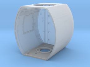 Mid section interior structure 1 in Smooth Fine Detail Plastic
