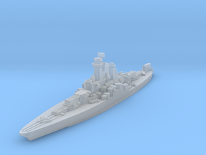 USS Tennessee 1945 1/2400 in Smooth Fine Detail Plastic