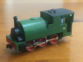 N6.5 (Nn3) 0-6-0ST in Smoothest Fine Detail Plastic