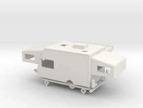 1100-C Jayco Ex Port 17C in White Natural Versatile Plastic: 1:87 - HO