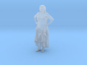 Printle H Femme 026 - 1/87 - wob in Smooth Fine Detail Plastic