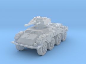 Sdkfz 234-1 early 1/285 in Smooth Fine Detail Plastic