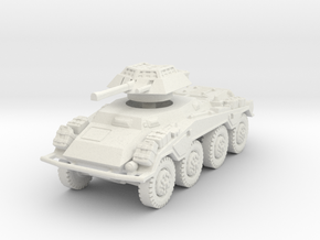 Sdkfz 234-1 late 1/100 in White Natural Versatile Plastic