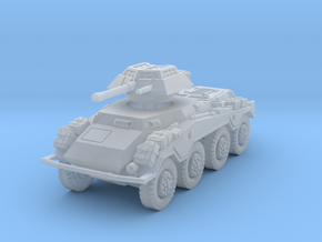 Sdkfz 234-1 late 1/220 in Smooth Fine Detail Plastic
