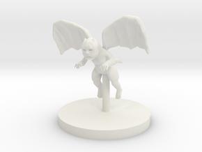 Imp - Winged Imp in White Natural Versatile Plastic