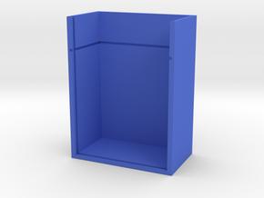 Misc Holder in Blue Processed Versatile Plastic: Small